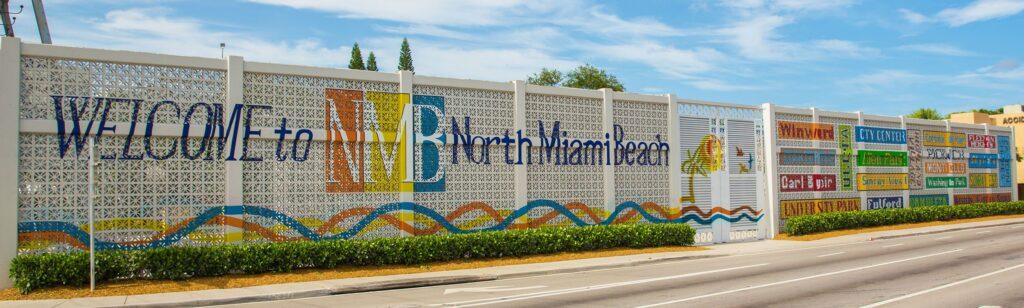 north miami beach entrance